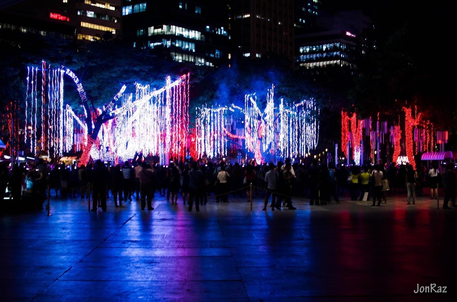 Ayala Avenue Christmas Lights 2015
