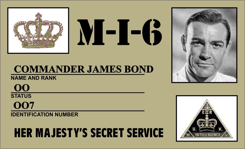Агент 007 поздравление с юбилеем
