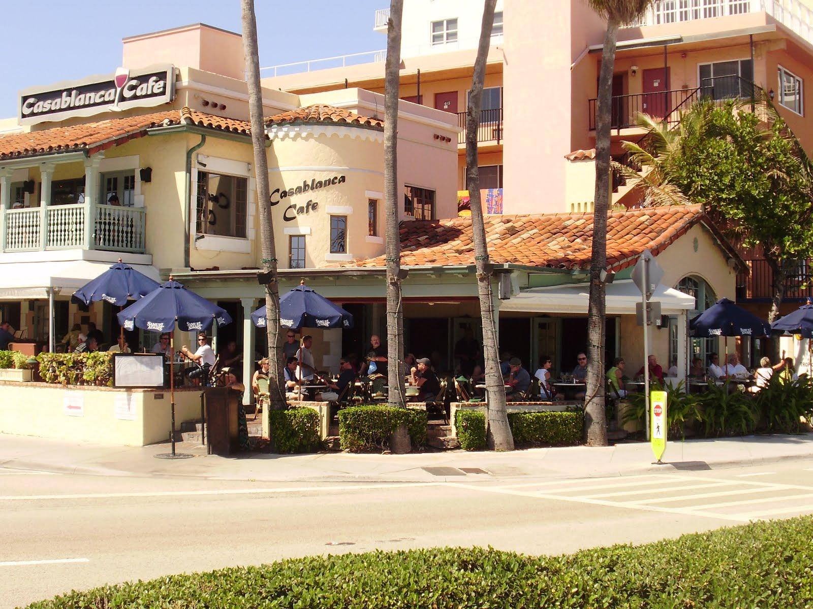Casablanca Cafe Ft Lauderdale Menu
