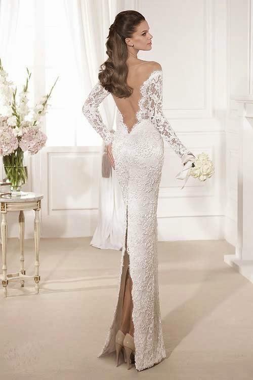 2014 Luxury Wedding Dresses Collection by Tarik Ediz White Part 1