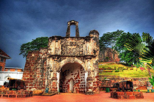 马六甲-古城门