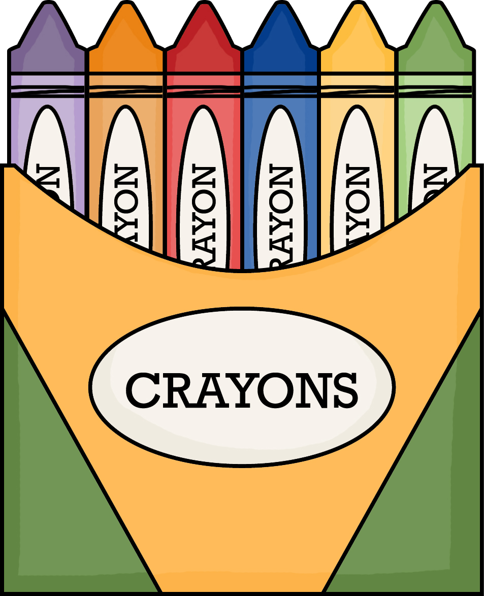 little miss kindergarten lessons from the little red crayola crayon box clip art empty crayon box clipart