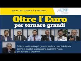 L'Euro è un Progetto Criminale