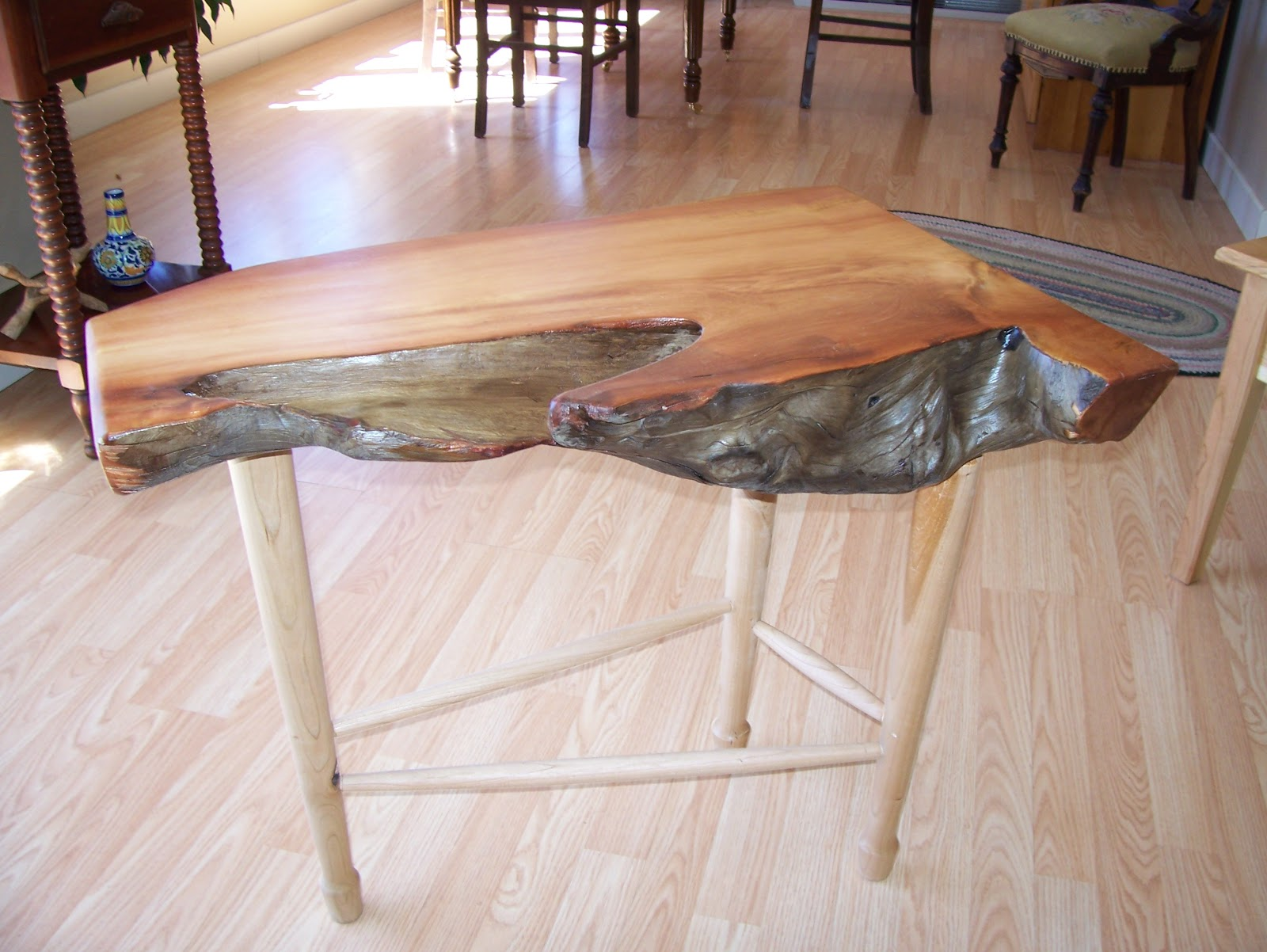 Peter ripple custom furniture driftwood tables for Driftwood tables handmade