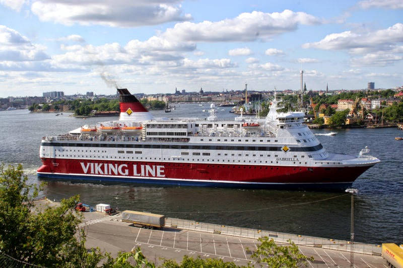 Viking Line - Sweden to Finland
