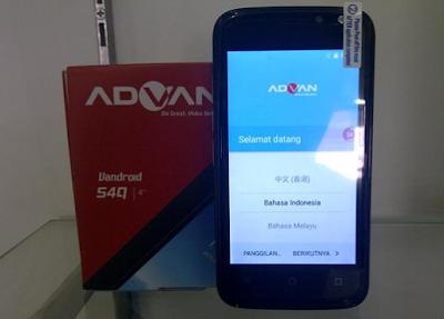 Spesifikasi Advan S4Q