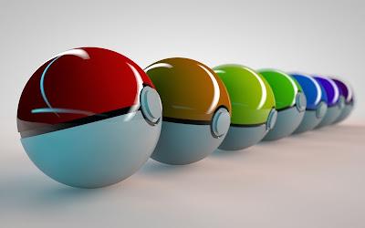 pokemon pokeball colorate