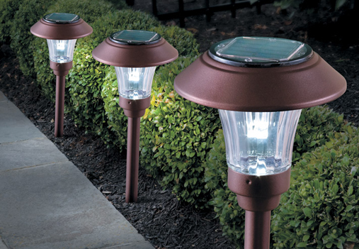 Backyard Lights Solar : Outdoor Lighting