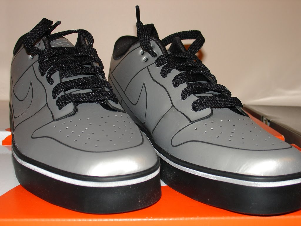 ric on the go back to the delorean dunks