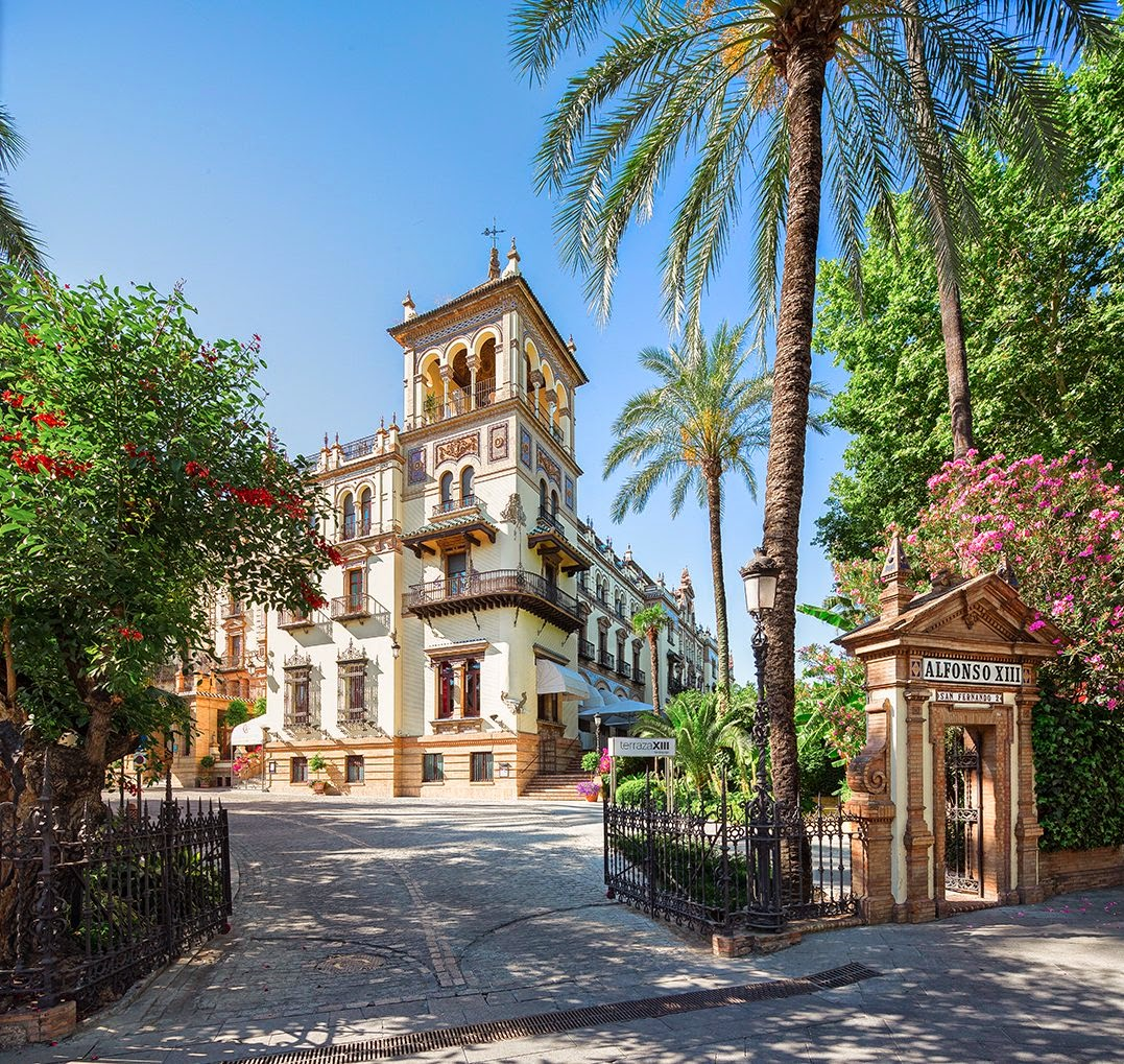 hotel alfonso xiii seville spain celebrity like and