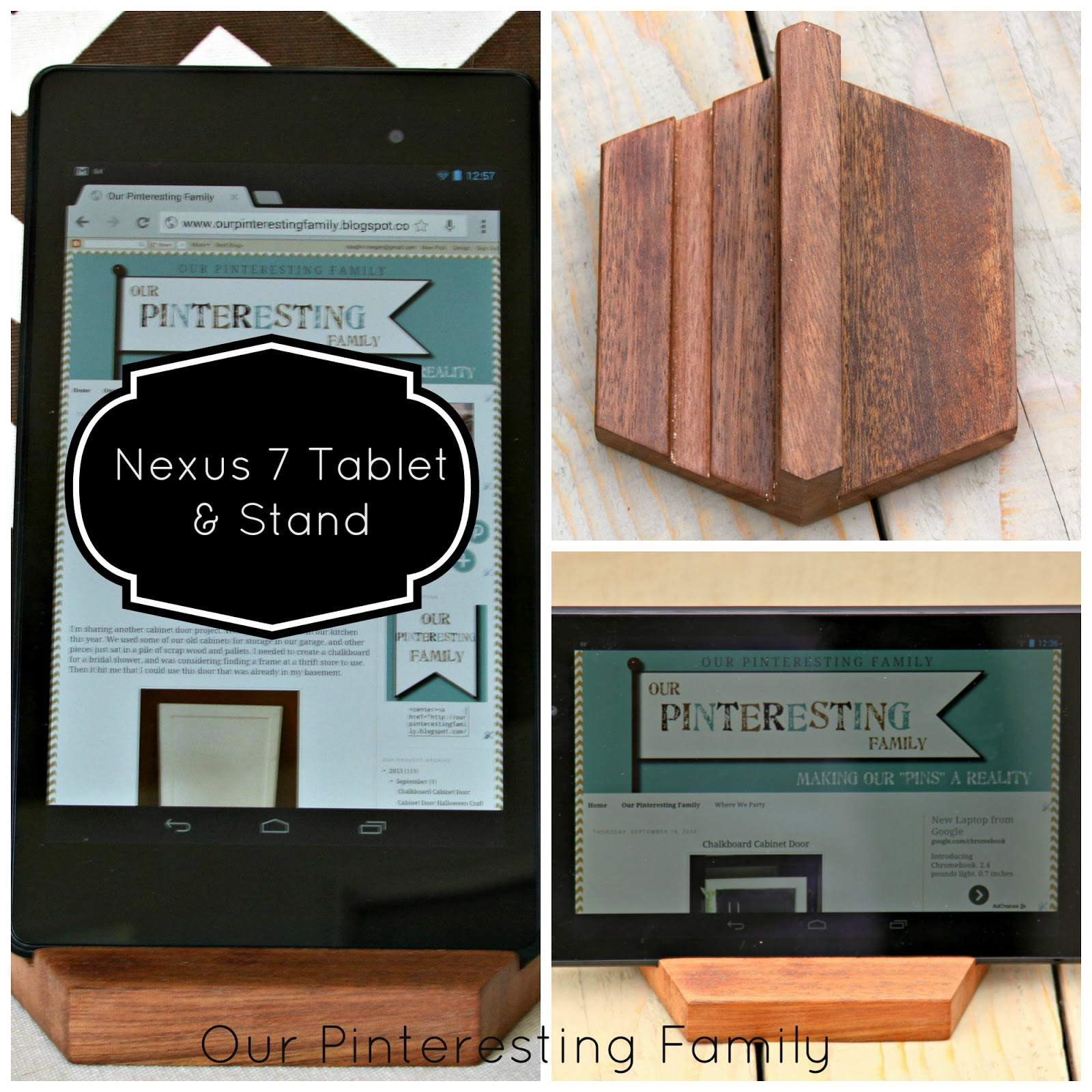 our pinteresting family google nexus 7 tablet and diy. Black Bedroom Furniture Sets. Home Design Ideas