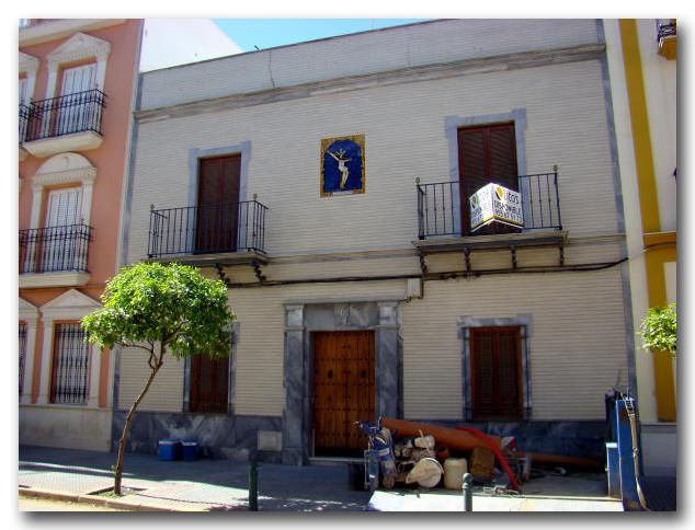 Fachada de casa particular. Calle Real Utrera, 26.