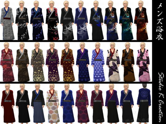 My Sims 4 Blog Japanese Yukata By Karzalee