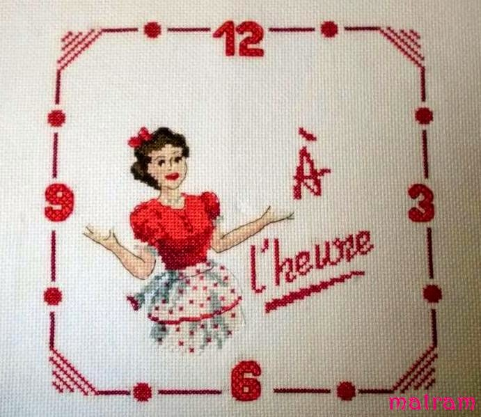 Zegar z Paryżanką