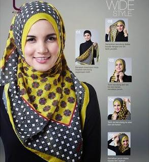 Tutorial Jilbab Sederhana