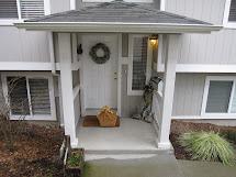 Split Level Home Entryway Roof Ideas