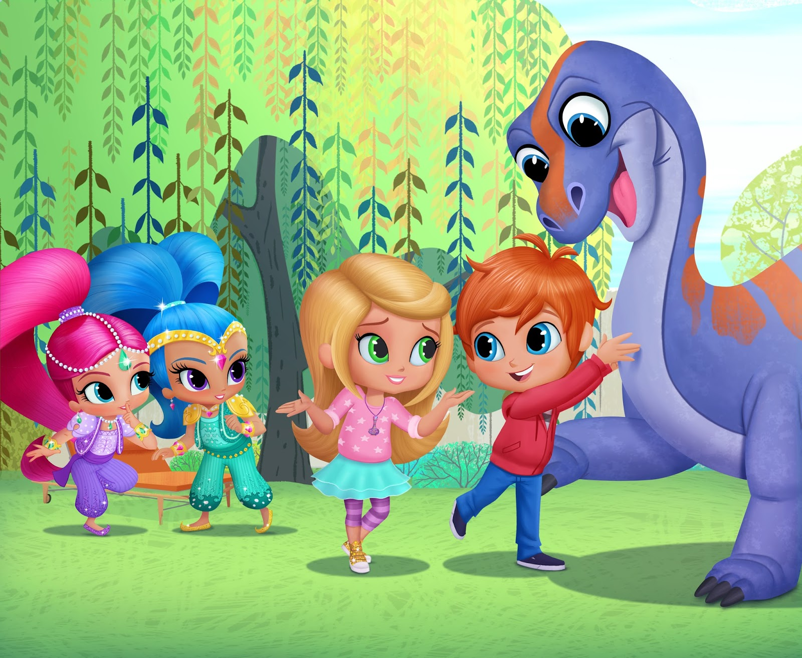 A Geek Daddy Shimmer And Shine Whirl Onto Nickelodeon S