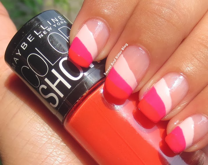 Maybelline Color Show Orange Fix Nail Art India