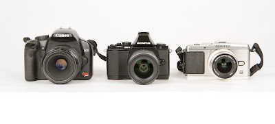 La gamma di fotocamere Olympus