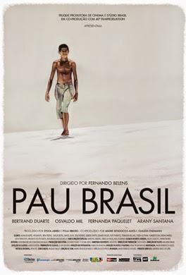"Poster do filme ""Pau Brasil"""