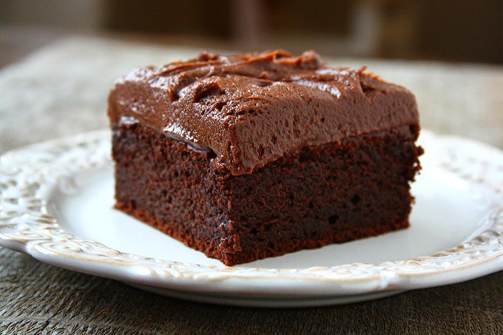 Collecting Memories Chocolate Sour Cream Cake