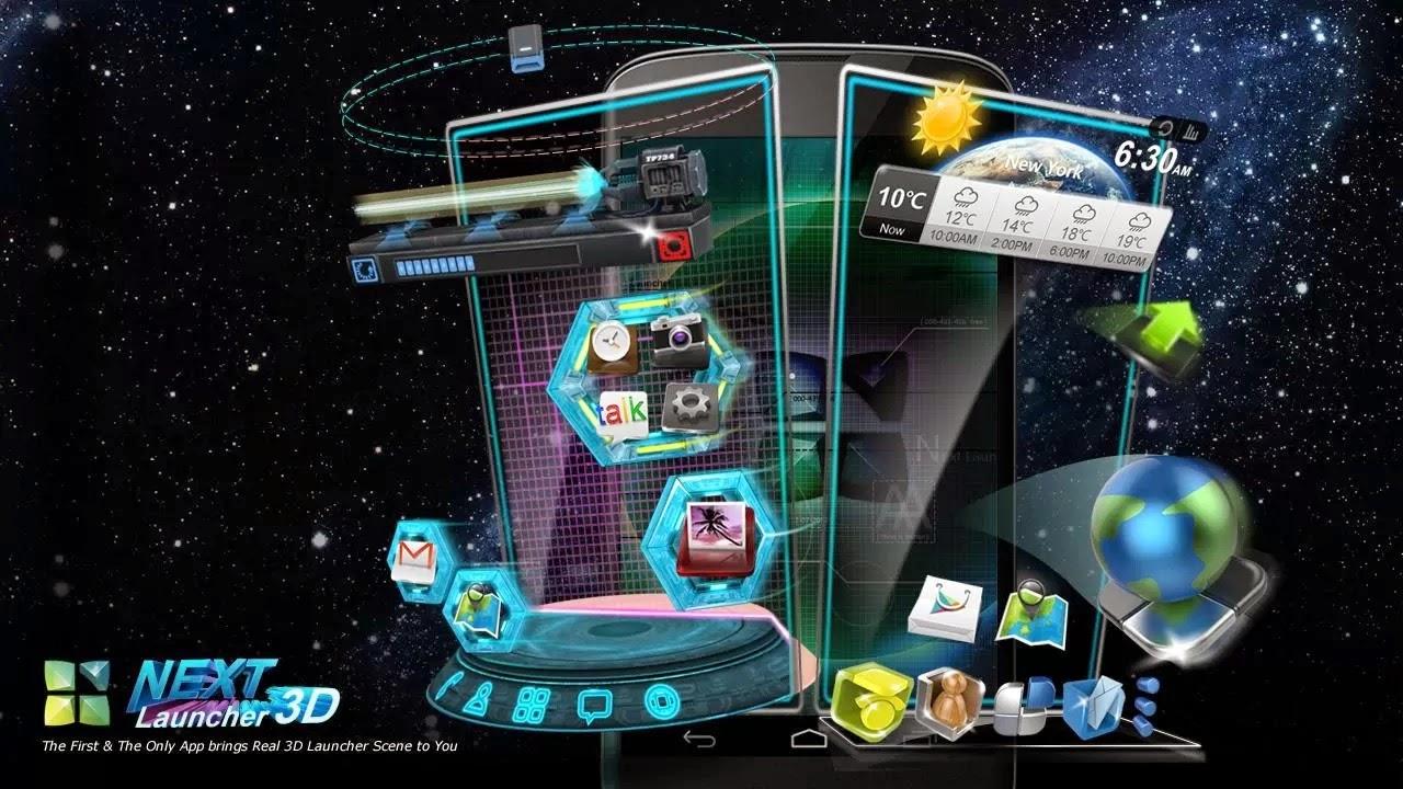 Next Shell 3D Launcher APK 3.18 ( LAST UPDATED VERSION