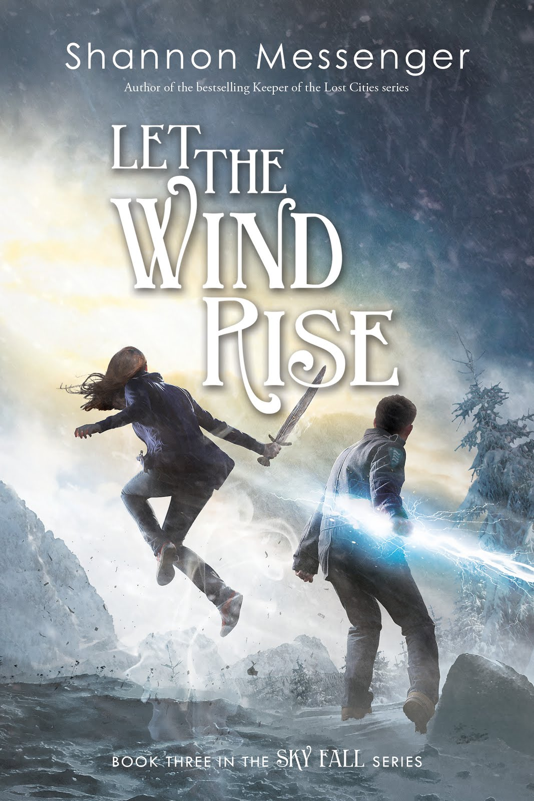 LET THE WIND RISE (Sky Fall Book #3)