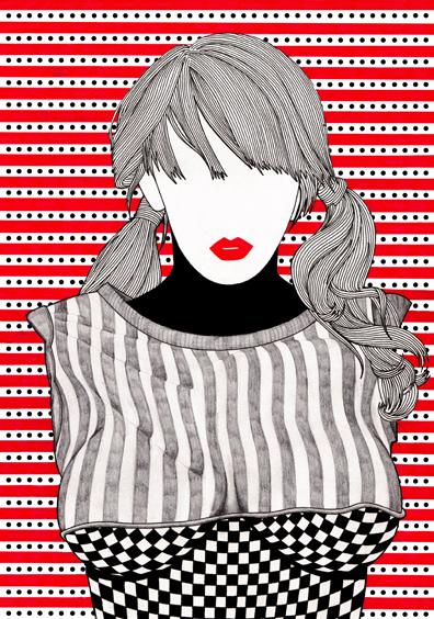 Nikki Farquharson. Fashion Collages