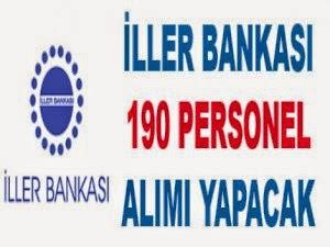 iller bankası personel alımı