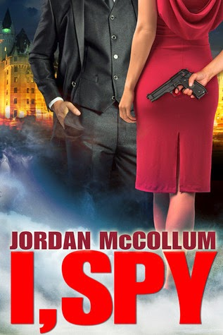 I, Spy by Jordan McCollum book review.  A clean page turner spy thriller for teens/YAs and older.  Alohamora Open a Book http://alohamoraopenabook.blogspot.com/