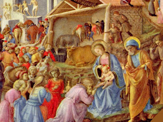 Free Download Fra Angelico Nativity Wallpaper