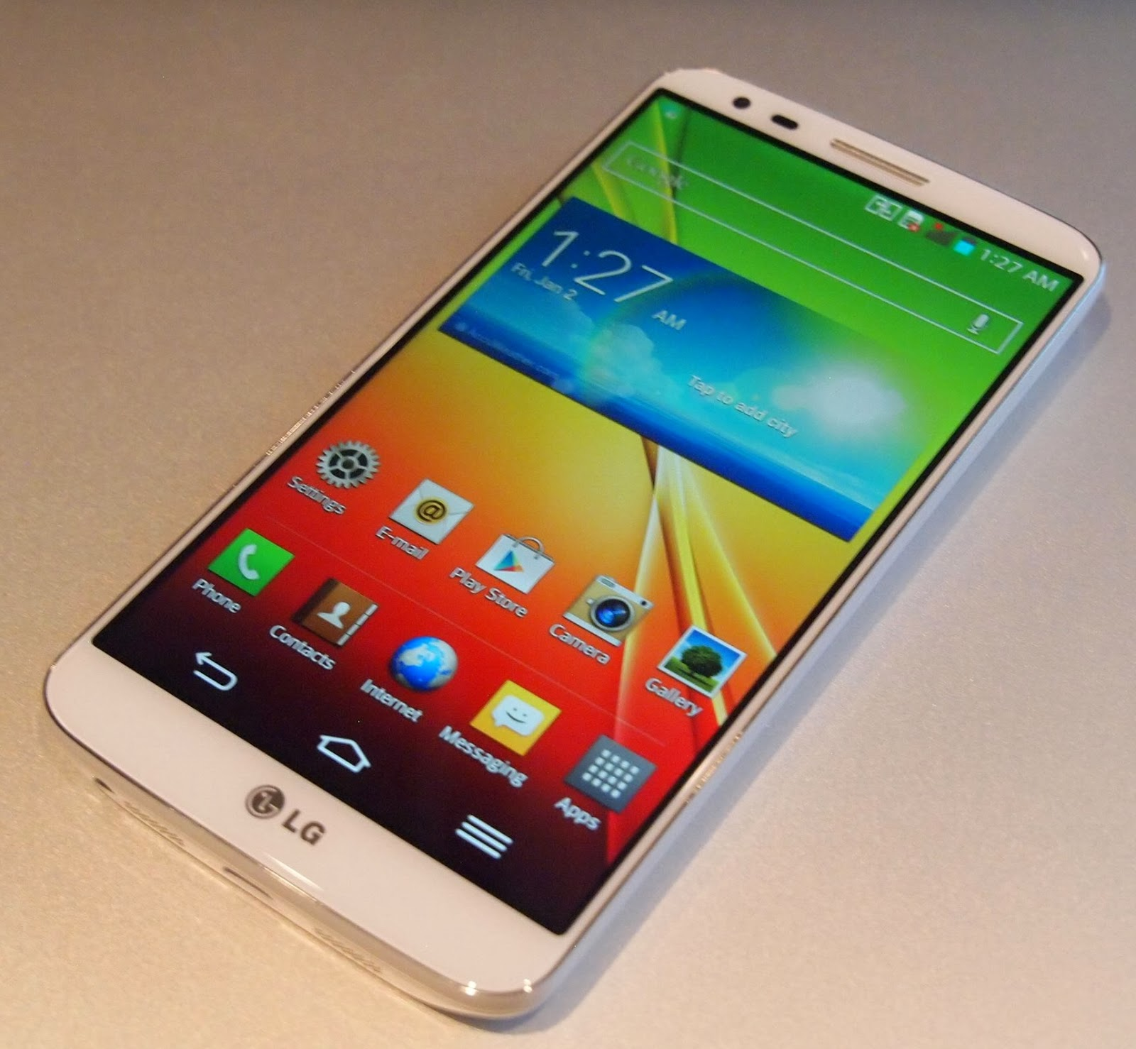 A New Smartphone In The Market LG G2