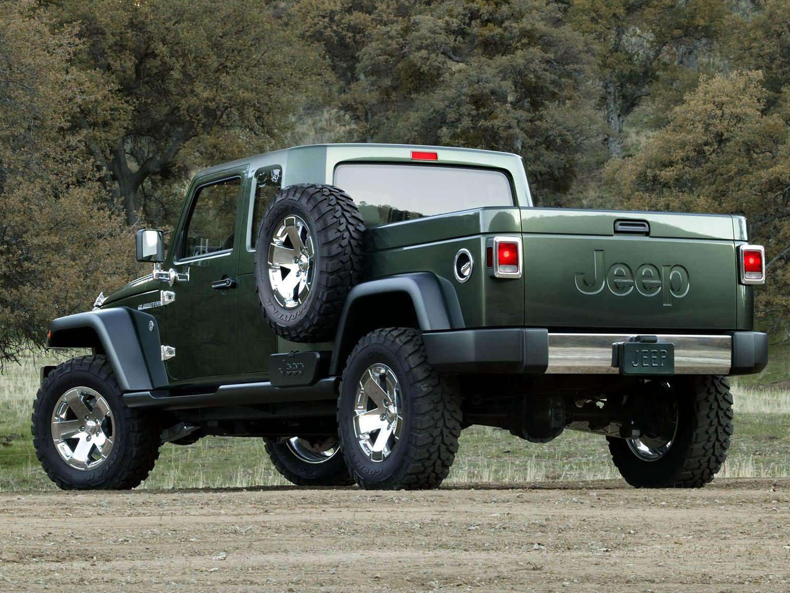 2005 Jeep Gladiator Concept Pictures Review