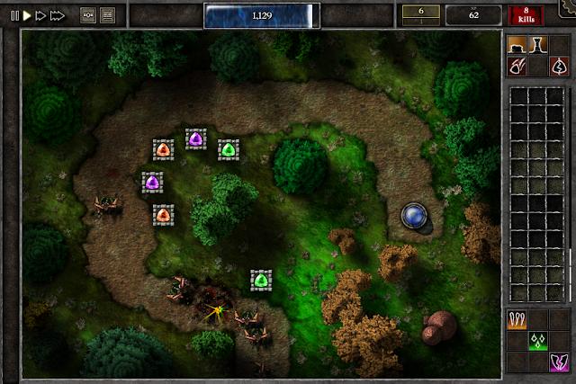 GemCraft Chasing Shadows 遊戲畫面