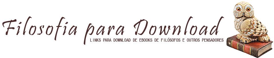 Livros de Filosofia para Download