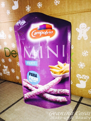 Mini Fuet Campofrio Degustabox Noviembre 2015