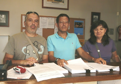 Concejales socalistas de Candelario