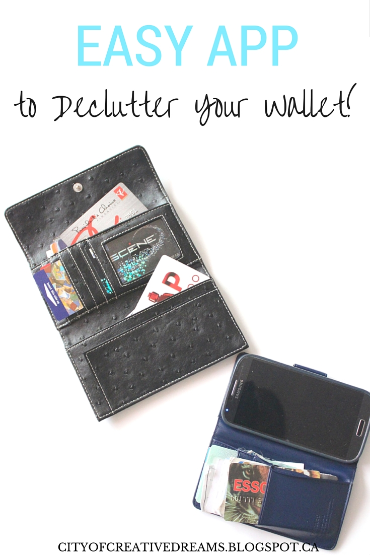 how to declutter your wallet?