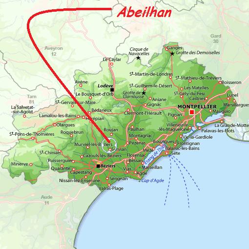Où se trouve Abeilhan?