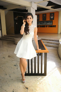 Isha Talwar in Lovely White Mini Gown Very Beautiful Actress Diva