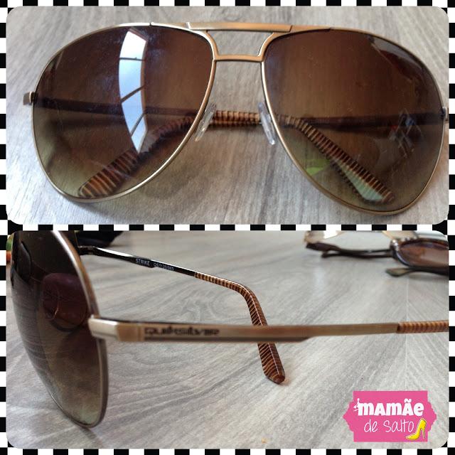 óculos de sol quiksilver blog mamãe de salto ===> todos os direitos autorais reservados para blog Mamãe de Salto