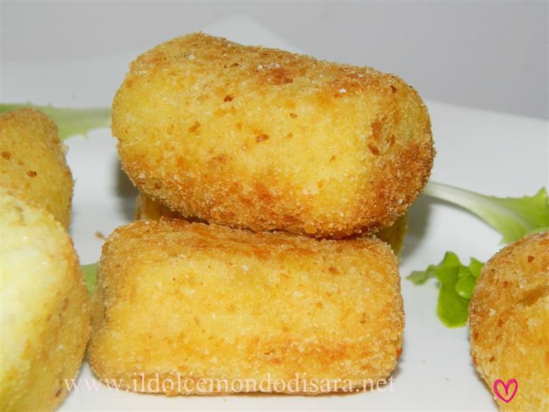 Il dolce mondo di sara crocchette di patate e for Mozzarella in carrozza parodi
