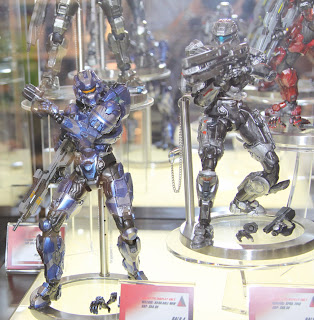 Square Enix Play Arts 2013 Toy Fair Display - HALO 4