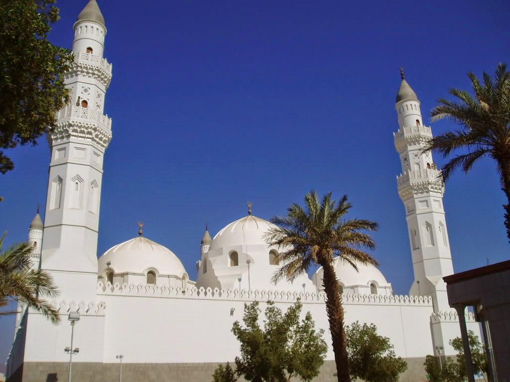 beautifull mosque in madinah