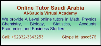 A level Online Tutors Saudi Arabia