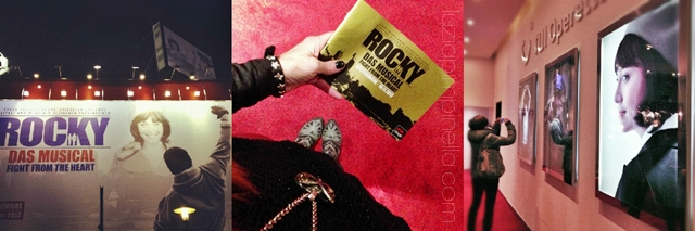 instagram fotos der ROCKY musical premiere im hamburger operettenhaus