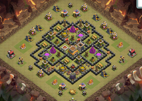 Main features th 8 anti hogs and anti drags a deadly base can blast