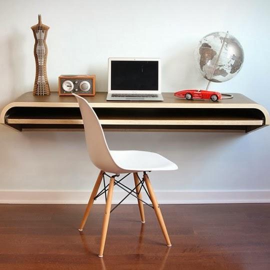 Bureau suspendu par orange22 design lab cr atif design for Bureau suspendu design