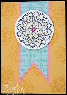 Delicate Doilies Card cut with Big Shot