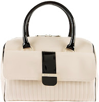Tatton Colour Block Shopper Tote Bag In Beige